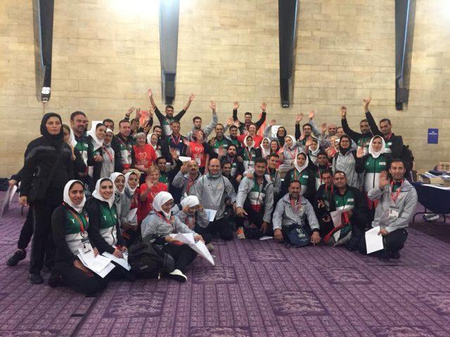کاروان ایران با کسب ۹۴ مدال در سکوی سوم جهان